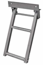 Retractable Truck Step, 2 Rungs, Stainless Steel, Buyers RS2SS