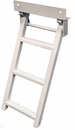 Retractable Truck Step, 3 Rungs, Stainless Steel, Buyers RS3SS