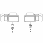 RT3, Headlight Set, Plastic, Boss P/N MSC03747