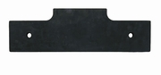 Rubber Cutting Edge, V Plow Center, replaces Fisher 63508, P/N 1312202