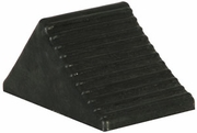 "Rubber Wheel Chock, 5""W x 6""D x 5""H, Buyers WC1467A"