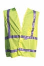 Safety Vest, Fluorescent Lime, X-LARGE, ANSI/ISEA Compliance, Buyers 9921010