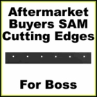 SAM Replacement Boss Cutting Edges