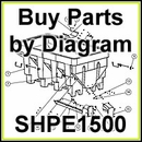 SHPE1500 SaltDogg Salt Spreader Parts by Diagram