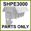 SHPE3000 SaltDogg 3.0 Cu. Yd. Poly Spreader Parts