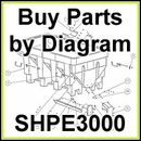 SHPE3000 SaltDogg Salt Spreader Parts by Diagram