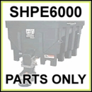 SHPE6000 SaltDogg 6.0 Cu. Yd. Poly Spreader Parts