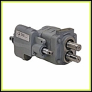 Small Dump Hydraulic Pumps w/ Manual Valves