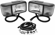 Snowplow Halogen Head Lamp Kit with Harness, P/N 1311005