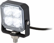 Square LED Strobe Light, Clear/Clear, Buyers 8891801