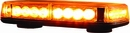 Strobe, Rectangular Mini Light Bar, Low-profile, Magnetic Mount, Buyers 8891040