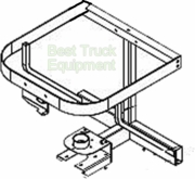 TGS01B, Frame Weldment Assembly, SaltDogg P/N 3005920