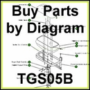 TGS05 B SaltDogg Salt Spreader Parts by Diagram