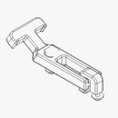 TGS05833 - DRAW LATCH KIT, FLEXIBLE, Fits: TGS 800