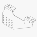 TGS05908 SUPPORT PLATE ASSEMBLY A, HITCH, BOSS TGS