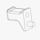 TGS05941 - LOWER CATCH, use with upper latch, TGS05833, Fits: TGS 800