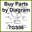 TGS06 SaltDogg Salt Spreader Parts by Diagram