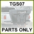 TGS07 SaltDogg Sand and Salt Spreader Parts