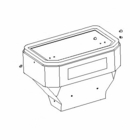 TGS15501 - HOPPER with HARDWARE, 2 STAGE, Fits: TGS 800