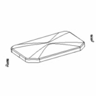 TGS15503, COVER, HOPPER with HARDWARE, 2 STAGE, Fits: TGS 800