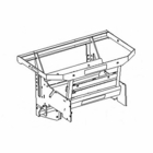TGS15510 - FRAME ASSY, 2 STAGE, Fits: TGS 800