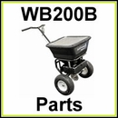 WB200B Walk Behind Spreader Parts & Diagram