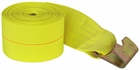 "Winch Strap w/Flat Hook 4"" x 30', 15,000 lbs. Buyers 1903085"