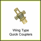 Wing Type Quick Detach Couplers