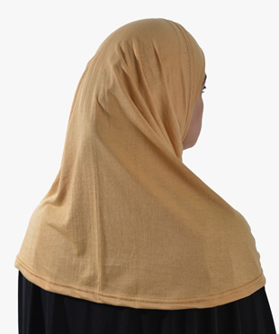 100% Cotton Long Two-Piece Al-Amira Hijab - Click to enlarge