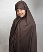 Young Girl's Tie-back Al-Amira Khimar from ages 6 to 12 years