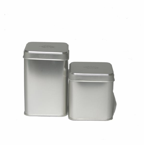 2 Different Size Tea Canisters, 50 or 100 Grams