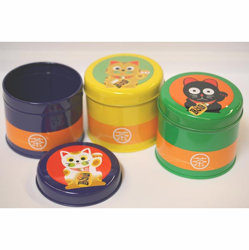 3 Different Kittens Tea Caninsters, 100 grams