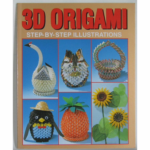 "3D Origami Step-by-Step Illustrations  <font color=red><i>""Out of Stock""</i></font>"