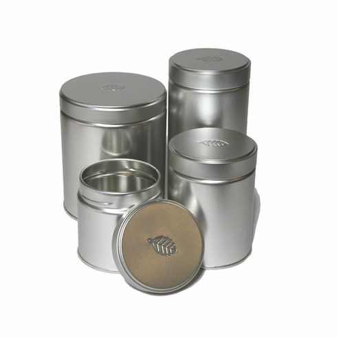 4 Different Size Tea/Coffee Canisters, 50, 100, 225 or 300 Grams
