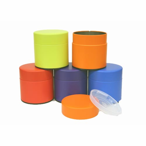 5 Different Color Tea Canister, 100 Grams