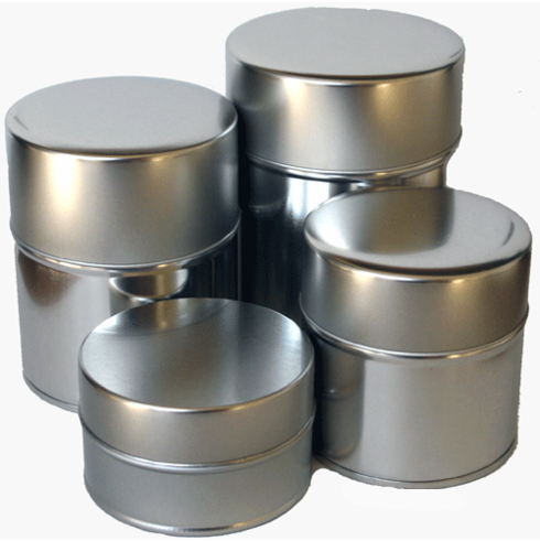5 Different Size Tea Canister,  <br>40, 60, 100, 150 or 200 Grams