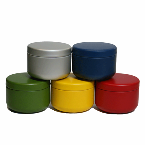 5 Tea Canister Set, Each one Holds 30 Grams