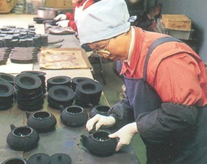 7. Polishing Teapots