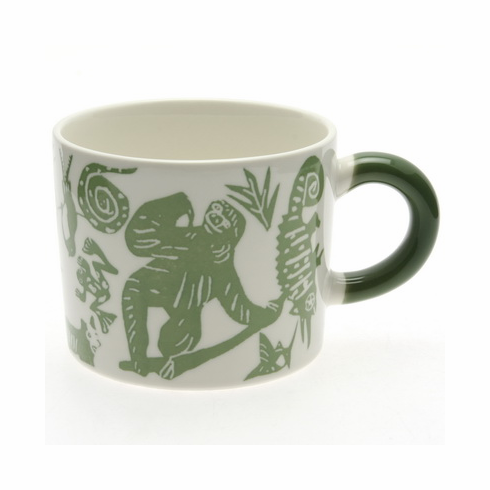 """Amazon"" Green Mug, 12 oz."