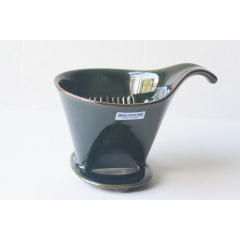 Bee House Antique Green Color  Coffee Dripper