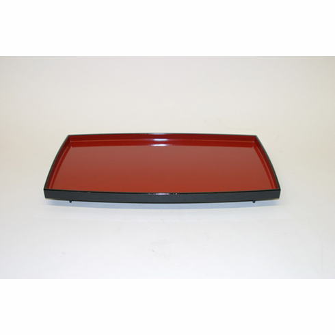 """Black and Red Tray 15-1/2"""" x 9"""""""