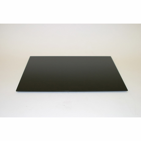"Black Wooden Tray 16-1/2"" x 11-1/2"""