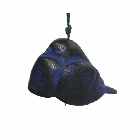 Blue Dove Cast Iron WindChime