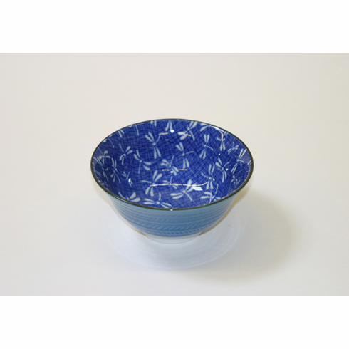 "Blue Dragonfly Bowl 5""<font color=red><i>"" Sold Out""</i></font>"