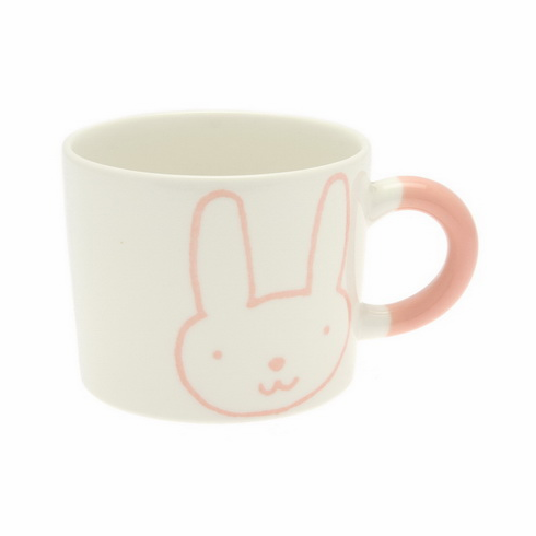 Bunny, Sea Otter & Owl Ceramic Mugs, 12 oz.