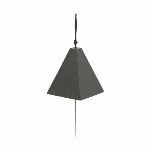 Cast Iron Black Square Wind Chime