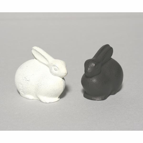 Cast Iron Bunny Paperweight