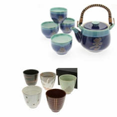 Ceramic Teapots & Tea Cup Sets