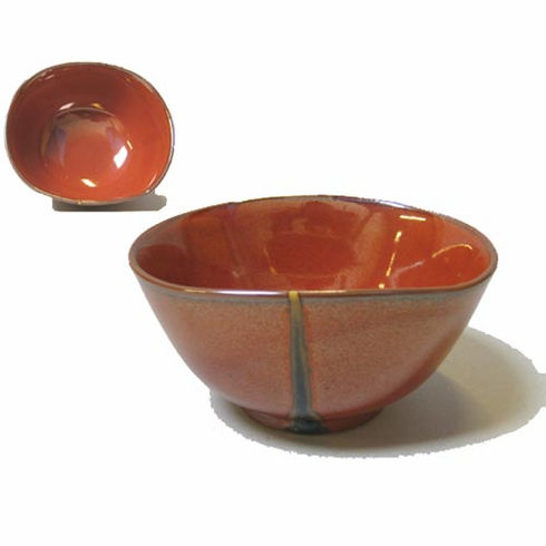 Dramatic Red Bowl