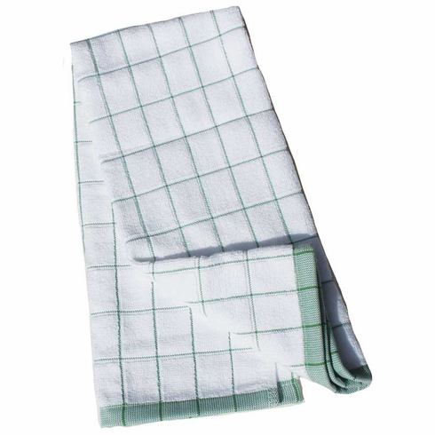 e-cloth Classic Check Kitchen Towel - Green